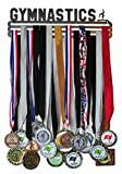 Gymnastics Medal Display - Gymnastics Medal Holder / Hanger - Stainless Steel - 3 Hang Bars