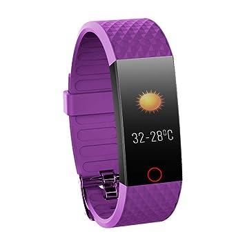 gouxia74534 La Reloj Inteligente del Hombre Relojes Inteligentes para Mujeres de Relojes Reloj Inteligente Pulsera Smart Pulsera presión Arterial Monitoreo ...
