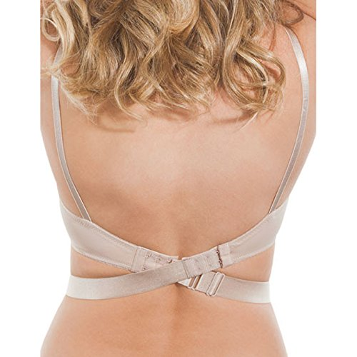 Fashion Forms Adjustable Low Back Strap One Size Style 4105 (Nude)