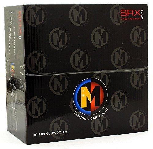 15-SRX10D4 - Memphis 10'' 200W RMS Dual 4-Ohm Subwoofer