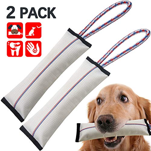 Tough Dog Toys for Aggressive Chewers,Dog Chew Toys,Dog Tug Toy,Firehose Dog Toys,Interactive Dog Toys for Large Dogs…