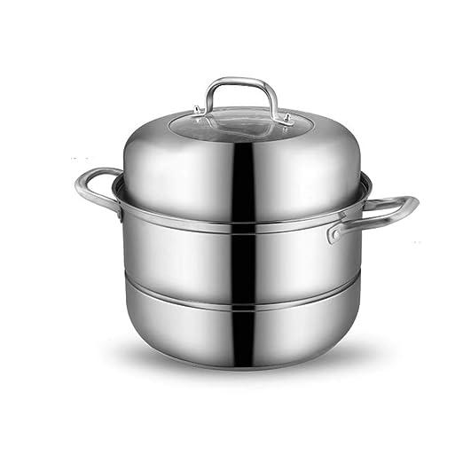 LNTE - Olla al vapor de acero inoxidable chino, para cocina ...