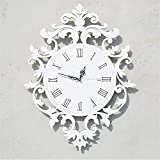 European Roman numeral Wall clock living room creative modern clock individuality art restaurant decoration wall A/16 inches