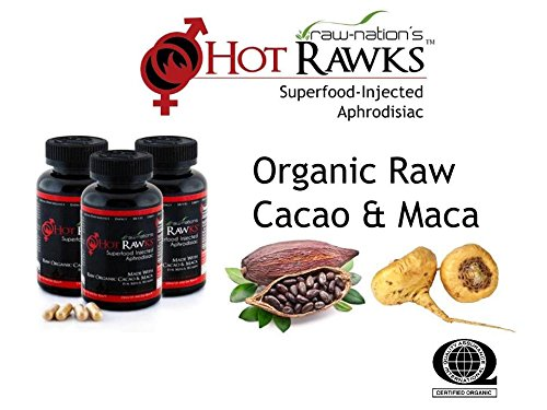 Hot Rawks® Organic Libido Enhancer for Men and Women with Cacao and Maca Natural Sexual Enhancement (3)