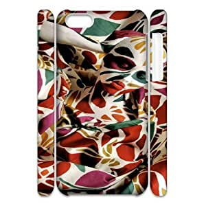 Iphone 5C Abstract pattern 3D Art Print Design Phone Back Case DIY Hard Shell Protection FG070826