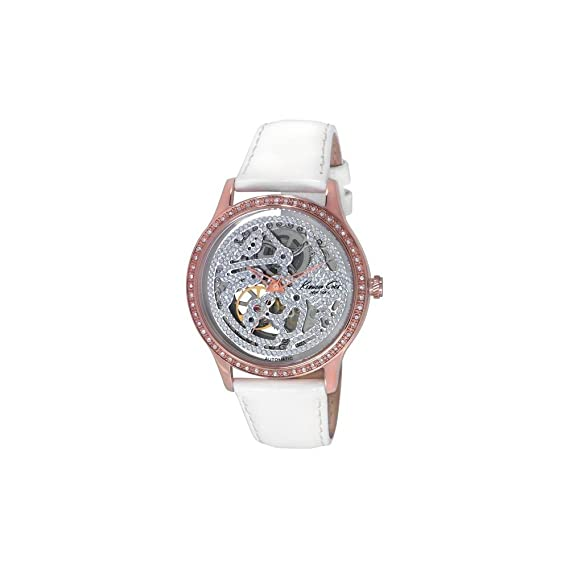Kenneth Cole IKC2885 - Reloj con Correa de Caucho para Mujer, Color marrón/Gris: Kenneth Cole: Amazon.es: Relojes