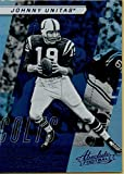 Football NFL 2017 Absolute Spectrum Blue #114 Johnny Unitas Retired Colts