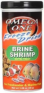Omega One Freeze Dried Brine Shrimp 1.28 Oz