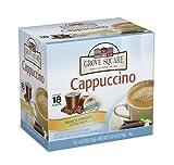 Grove Square Cappuccino, French Vanilla, 18 Single Serve Cups (Pack of 3)
