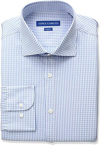 Blue White Check Shirt - 2