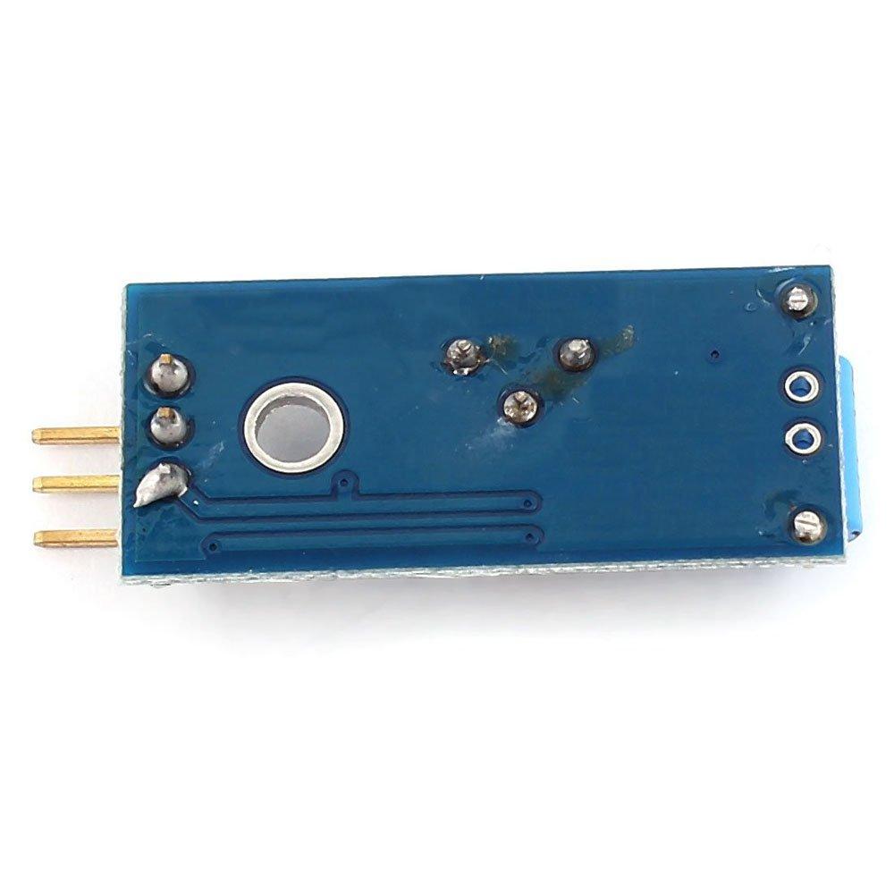 Amazon.com: WINGONEER 5pcs SW-420 NC Tipo Vibración Sensor ...