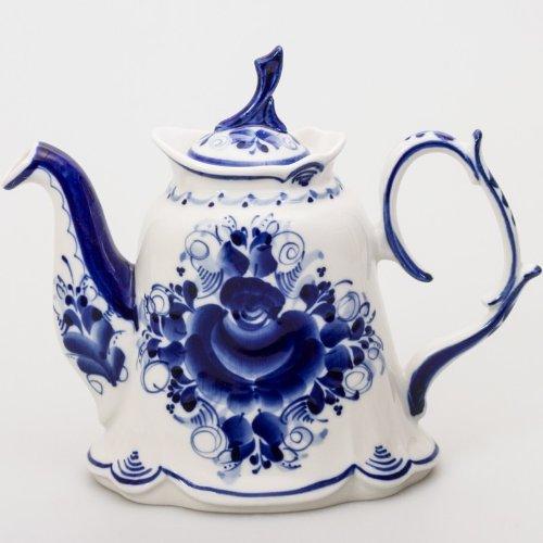 May Gzhel Porcelain Teapot 700 ml