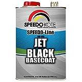 Speedokote Jet Black Automotive Basecoat, One Gallon SMR-9700