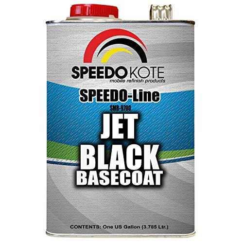 Speedokote Jet Black Automotive Basecoat, One Gallon SMR-9700 by Speedokote (Image #1)