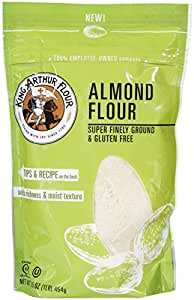Amazon.com : King Arthur Almond Flour - 16 oz : Grocery