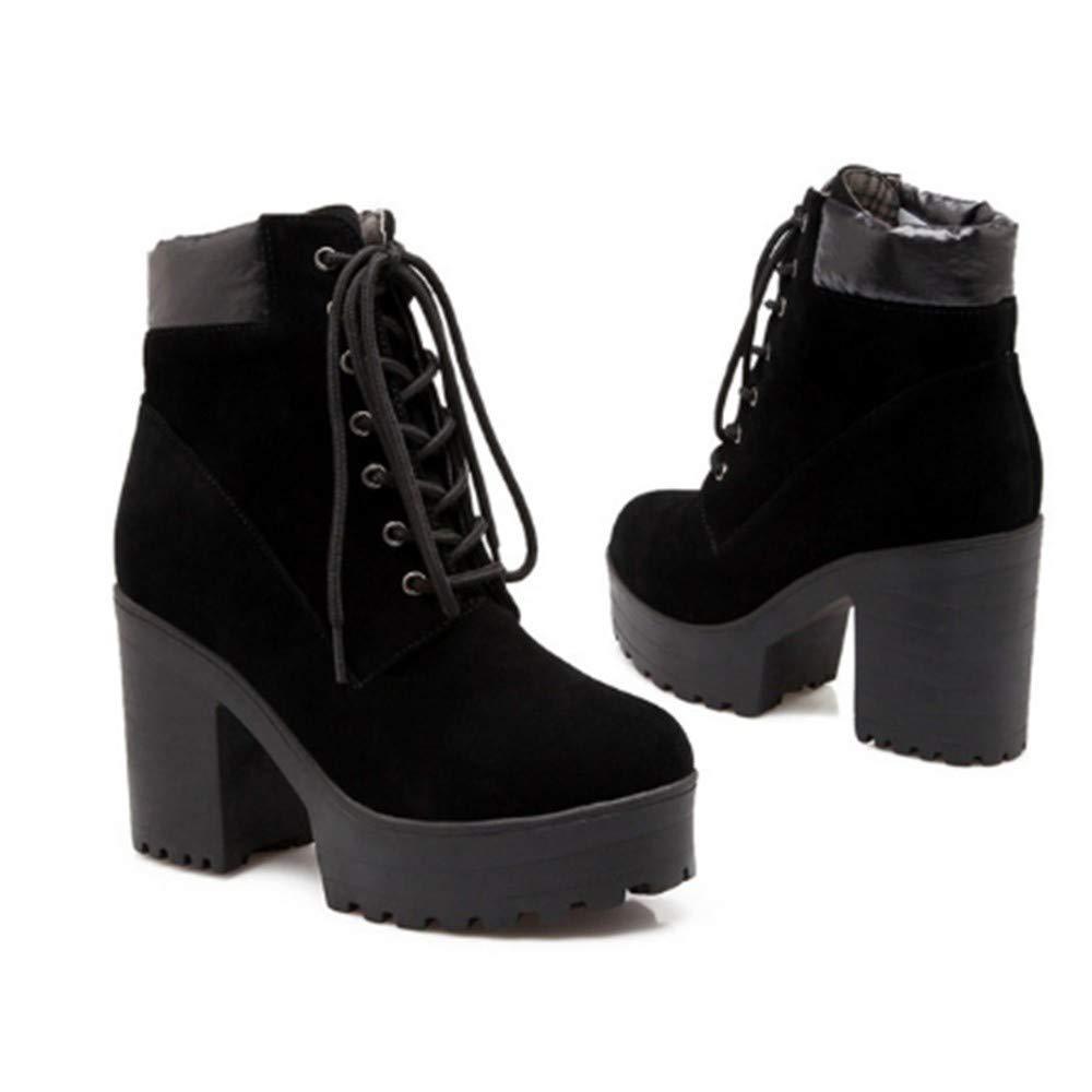 FMWLST Bottes Nouvelles Bottes pour pour Femmes Talons Hauts Chaussures pour Femmes avec des Bottines Bottes d'hiver Chaudes Et Antidérapantes  magasiner en ligne aujourd'hui