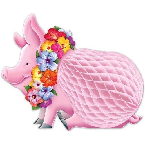 Beistle 55334 Luau Pig Centerpiece, 12-Inch]()