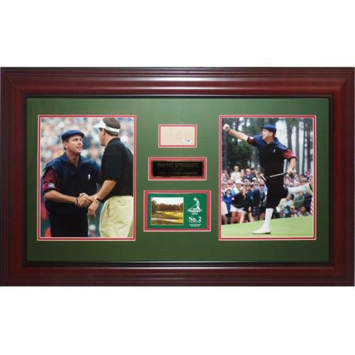 Payne Stewart Autographed 1999 US Open (Pinehurst #2) Deluxe Framed Tribute Piece
