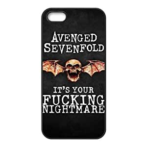 Avenged Sevenfold Iphone 5 5S Cell Phone Case Black WON6189218975950