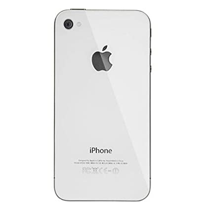 Apple Iphone 4s Back Glass Plate Or Paneldoor Amazon Electronics