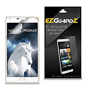 (1-Pack) EZGuardZ Screen Protector for Pantech Vega Iron 2 (Ultra Clear)