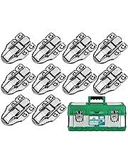 KARAA 10 stuks koffersluiting kistsluiting klepsluiting spansluiting hefboomsluiting antieke doos zilveren slot gesp voor medicijnbox airbox cosmeticakoffer gereedschapskoffer gereedschapskist 60 x 40 metaal