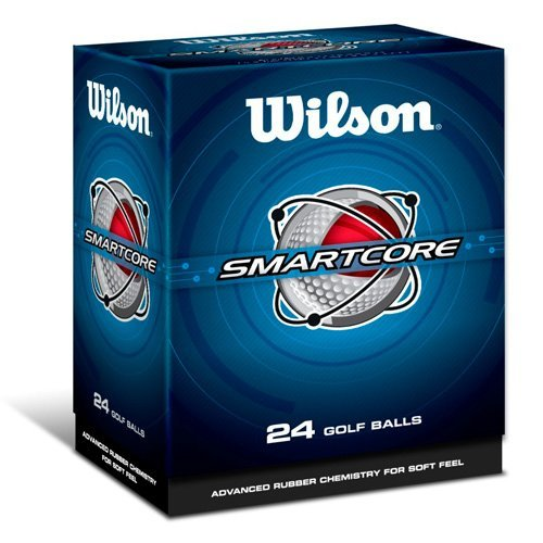 Wilson Smart Core (Wilson Smart-Core Straight Distance Double Dozen Golf Balls Two 12-Ball Packs by Wilson)