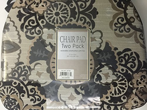 Chair Pad Two Back- Brown by Brentwood
