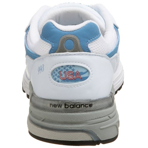 New Balance, Sneaker donna multicolore White/Blue