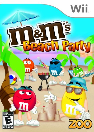 M&M's Beach Party - Nintendo - Sports Wii Beach Big