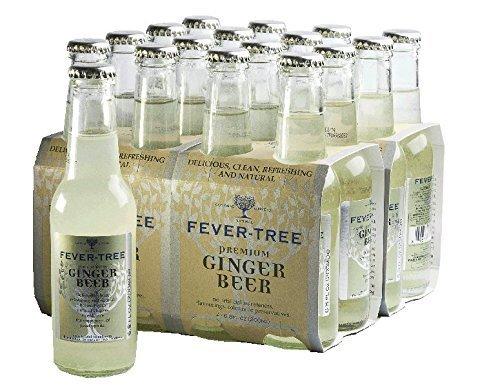 8 opinioni per Fever Tree Ginger Beer, 200ml, 24 Bottles