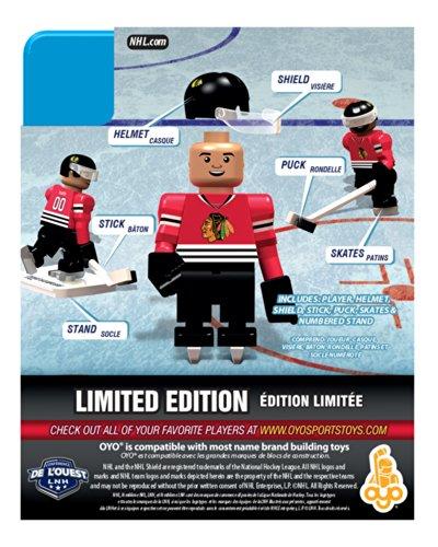 Brandon Saad NHL Chicago Blackhawks Oyo LE Minifigure