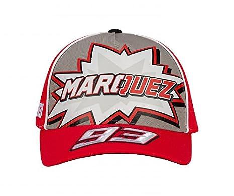 Marc Marquez 2018 Honda Motogp 93 Kids logo berretto da baseball rosso per  bambini cbd104cf392e