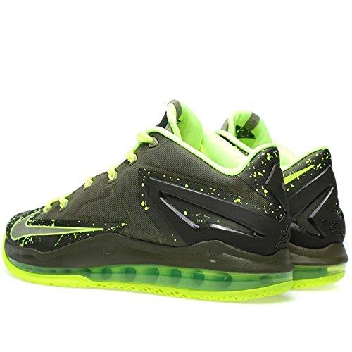 Nike Max Lebron Xi Basso Medio Kaki / Medio Kaki-volt-medio Oliva