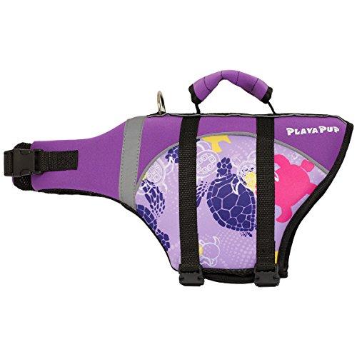 - PlayaPup Dog Life Jacket, Purple Haze Tuga, X-Large