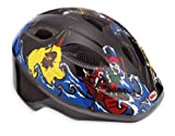 Bell Splash Toddler Bicycle Helmet, Black/Blue Pirates