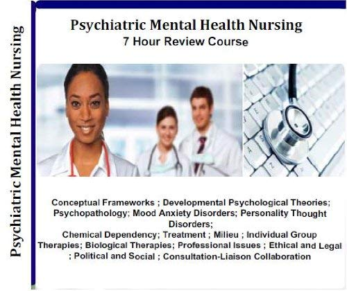 Psychiatric Mental Health Nursing Audio Review; 7 Hours, 7 Audio CDs; Comprehensive Review for Psychiatric Mental Health Nursing Comprehensive Review; Psychiatric Nurse Practitioner PMHNP by World Medical Publishing