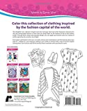 Forever Inspired Coloring Book: Paris Fashions