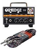 valve guitar - Orange Micro Dark Mini Valve Hybrid 20 Watt Guitar Amplifier Head #MD20 w/Free Cable
