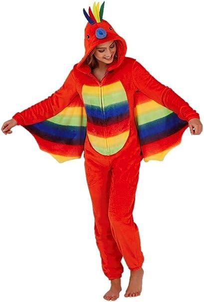 Pijama de loro para mujer, todo en una pieza, regalo de Navidad ...