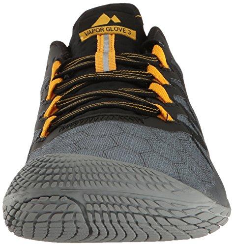 Merrell Vapor Glove 3, Zapatillas de Running para Hombre Gris (Dark Grey)
