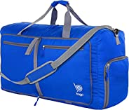 Bago Travel Duffel Bags for Men & Women - Lightweight Folding Duffle Bag Luggage 60L 80L