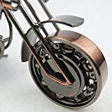 VORCOOL Vintage Iron Motorcycle Model Metal Retro
