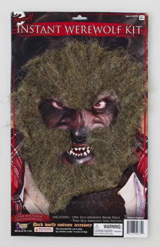 Forum Novelties Instant Werewolf Facial Hair Brown]()