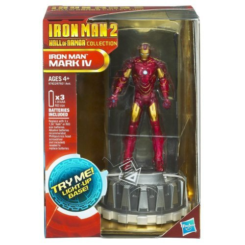 [Iron Man 2 Hall of Armor Collection Figure Iron Man Mark IV] (Iron Man Armor Suits)