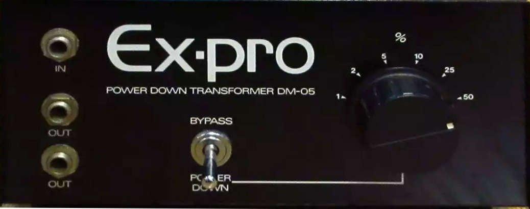Ex-pro トランス式パワーダウンアッテネーター DM-05 スピーカーケーブル オリジナル布ダストカバー [プレゼント セット] …   B01N7FRT4U