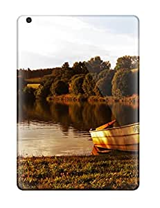 Best 5100437K31560880 New Boat At The Lake Protective Ipad Air Classic Hardshell Case