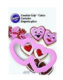 Wilton Comfort Grip Double Heart Cookie Cutter
