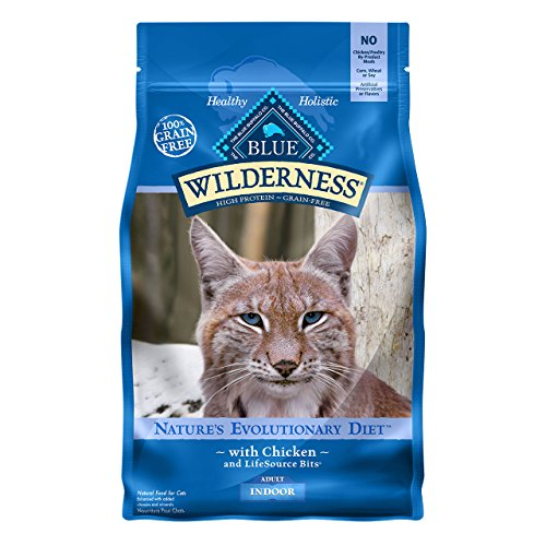 Blue Buffalo Wilderness High Protein Dry Adult Cat Chicken Indoor