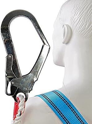Silverline 254301 - Juego de arnés anticaidas (Arnés y cuerda de ...